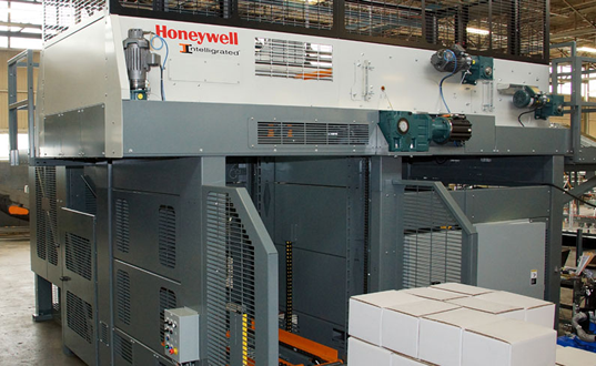 Paletizador Alvey 890i, de Honeywell Intelligrated.